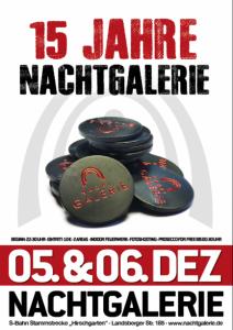 Plakat-15-Jahre-Nachtgalerie-Muenchen-DJ-Jester